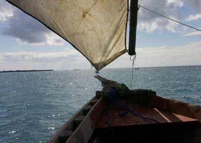 Kipepeo Beach Activities Dhow Sailing 1